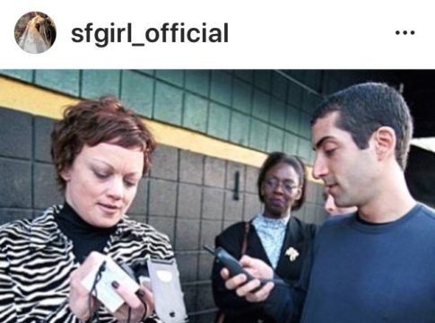 flip phone, instagram, 1990s, dot com, valley of the boom, sfgirl, silicon valley